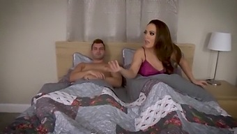 Mom And Son Share A Bed - Son Fucks Mom, Milf, Mother, Family Sex - Carmen Valentina & Nicky Rebel