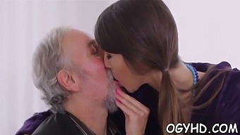 J. Babe Licked By An Old Guy