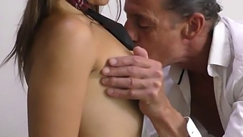 Stepdad Can'T Believe His Luck With Horny School Girl Who Wants A Fuck