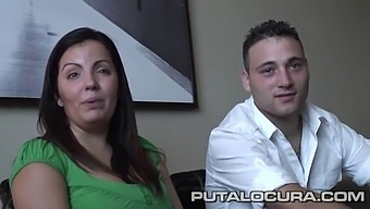 The Busty Neighbor And Her Boyfriend Sign Up For Porn