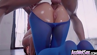 (Nikki Benz) Luscious Girl With Round Big Ass In Hard Anal Sex Movie-24
