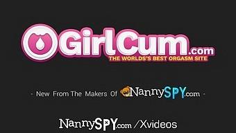 Nannyspy Hidden Cam Exposes Busty Nanny