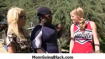 Watching My Mom Going Black Amazing Interracial Porn 12