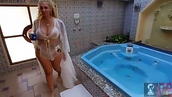 Video 63 Big Boobs Mom Take A Shower In The Morning. Her Whatsapp Number In The Video!