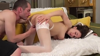 Gorgeous Natural Big Tits Teen Model Fucked Throughout