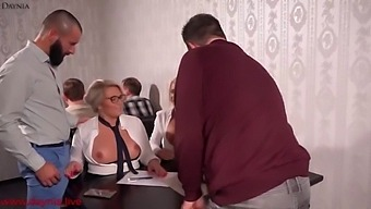 The Milf Office Sluts Fucked In All Holes In The Restaurant!