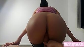 Hot Step Sister Loves To Fuck After The Gym - Huge Cumshot