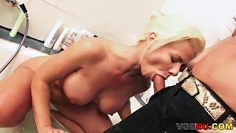 Blond Milf Anal Fucked