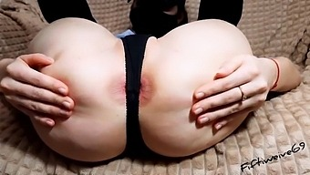 Hard Fuck Of My Anal Hole With A Big Fist