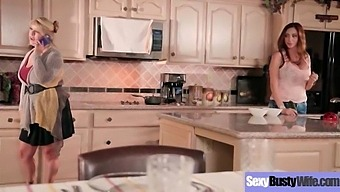 Sex On Cam With Horny Big Juggs Wousewife (Ariella Ferrera) Movie-05