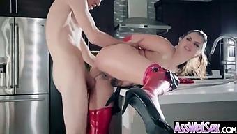 Big Ass Horny Oiled Girl (Allie Haze) Like Deep Hardcore Anal Sex Video-06