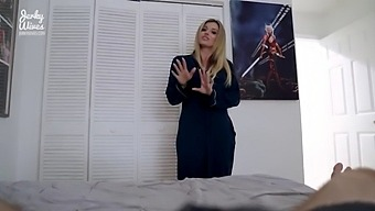 Hot Cheating Step Mom Wants More Me Time With Me - Cory Chase