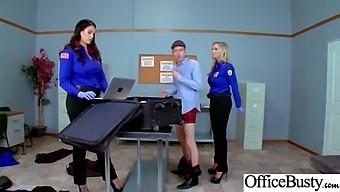 (Alison Tyler & Julia Ann) Office Girl With Round Big Boobs Enjoy Hard Sex Movie-02