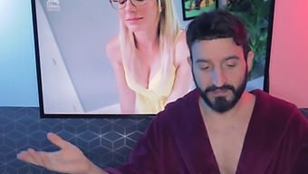 Horny Milf Step Aunt With Big Tits Is Fucked While Stuck To My Desk - Melanie Hicks (Reaction)
