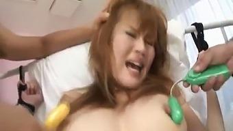 Erika Kurisu With Legs In Ropes Sucks Shlong