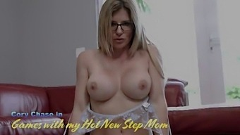 Step Mom Bangs Me After Work And Swallows My Cum - Cory Chase