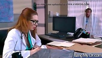 Sex Adventures On Tape Between Doctor And Patient (Veronica Vain) Video-30