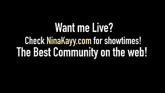 Thick Dicked Nina Kayy & Karen Fisher Bang Black Cock Dude!