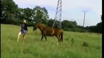 City Girl Fucked By Old Farmer