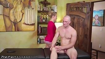 Nurumassage Aj Applegate Gets Naughty With Her Bff'S Stepbro