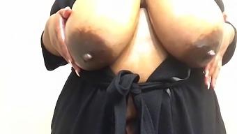 Oil & Huge Boobs