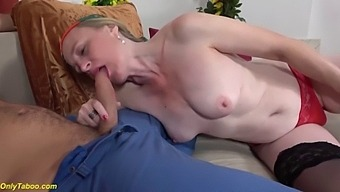 Prolapse Mom B. Anal With Step Grandson