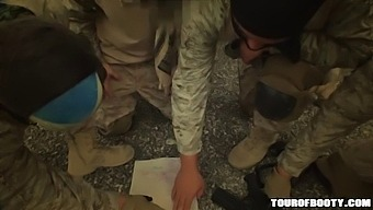 Tour Of Booty - Local Arab Working Girl Lets American Soldier Tap Dat Azz