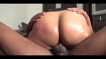 Bbw Latina Double Penetrated By 2 Big Black Cocks