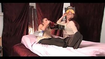 Crossdresser Seduces Party Girl