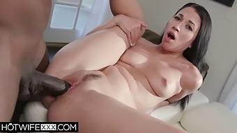 Alex Coal Fucks Bbc While Her Man Watches Deepthroat