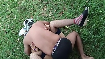 Risky Public Outdoor Xxx Fucking With Big Ass Aunt