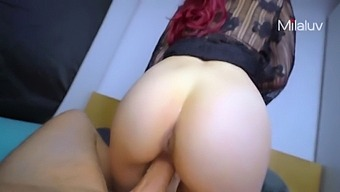 Hot Step Mom Offers Me Her Wet Creamy Pussy (Cum Mouth & Swallow) - Milaluv