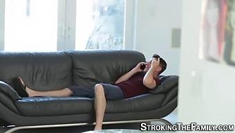 Stepmoms Tits Cum Covered