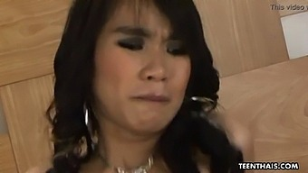 Sexy And Hot Thai Slut Getting Her Wet Hairy Pussy Plowed