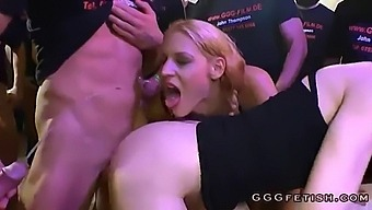 Girl Gets A Mouthful Of Sperm