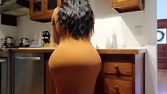 Big Ass Gets Fucked In The Kitchen