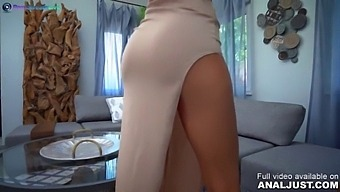 Only3x (Just) Brings You - Just Anal Presents - Shalina Devine Anal Fuck And Creampie Mostly In Pov