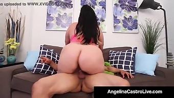 Puerto Rock Fucks Bbw Angelina Castro'S Wet Cuban Pussy!