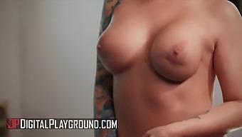 (Ivy) Bouncing And Grinding On (Xanders) Big Dick - Digitalplayground