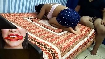 Desi Couple Has Wedding Night Sex