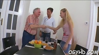 Cute Young Beauty Fucked By Old Guy