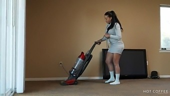 Curvy Latina Wife Fucks The Cable Guy While Her Husband Is Out Of The Country.