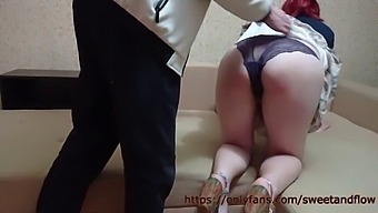 Wife Came To Pay Off Her Husband Loan With A Pussy